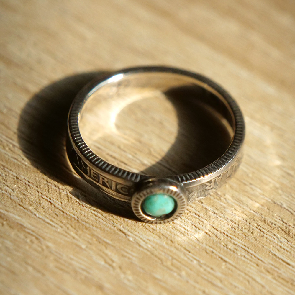 [North Works]  N-109 25¢Ring Turquoise