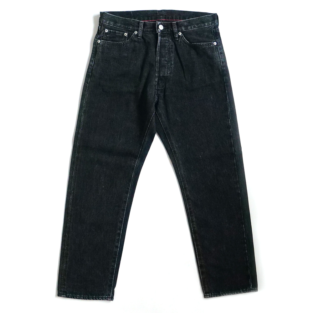 [Ordinary Fits]  5P Ankle Denim Black Used OM-P020