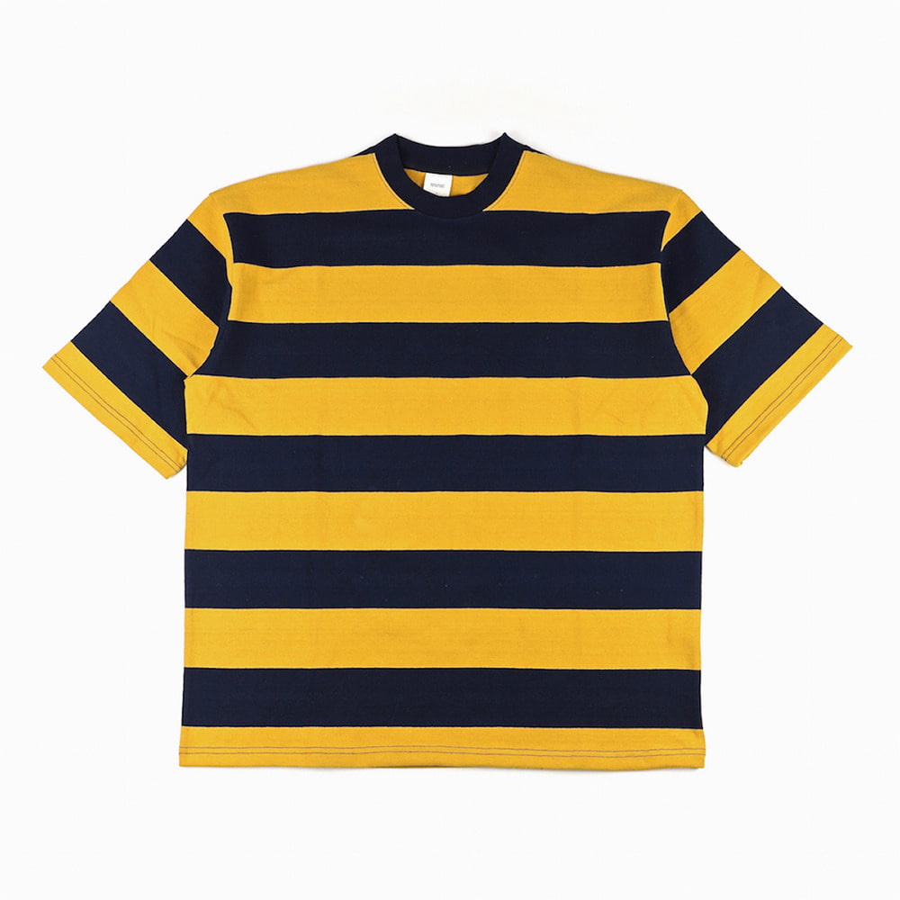 [Slick And Easy]  Wide Border Tee Honey Bee
