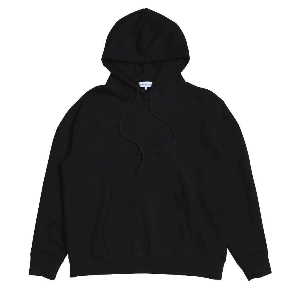 [Steady Every Wear]  Daily Hoody Black