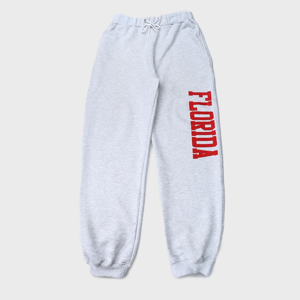 [Long Vacation]  Longvaca In Florida Sweat Pants Melange grey