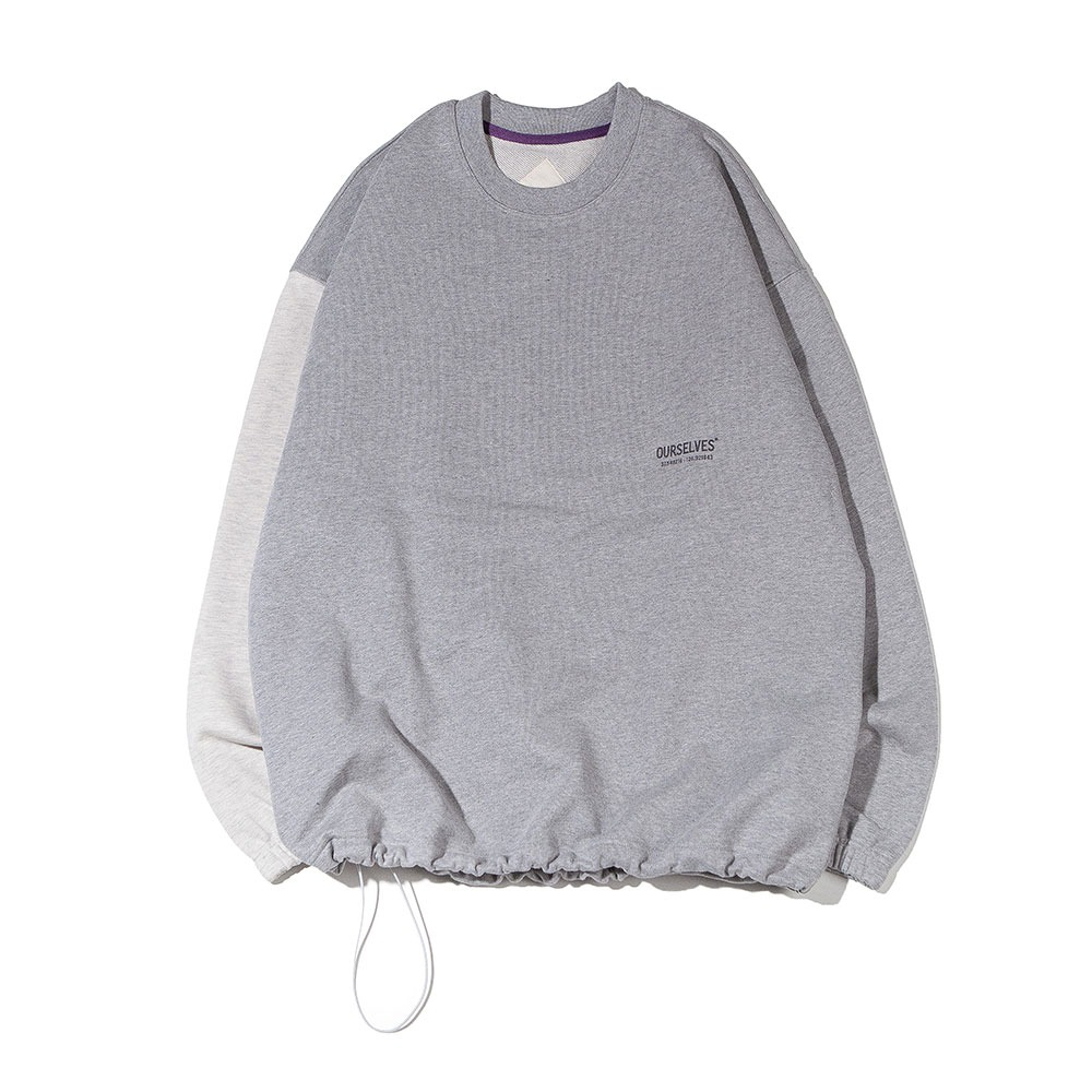 [Ourselves]  Logo Play Sweat Shirts Melange/Oatmeal