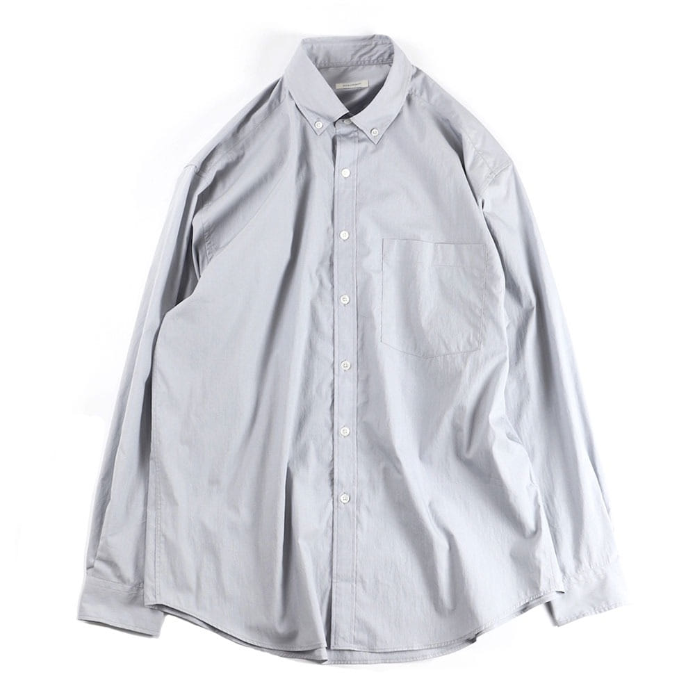 [Slick And Easy]  Lightweight Slick Shirt Salt