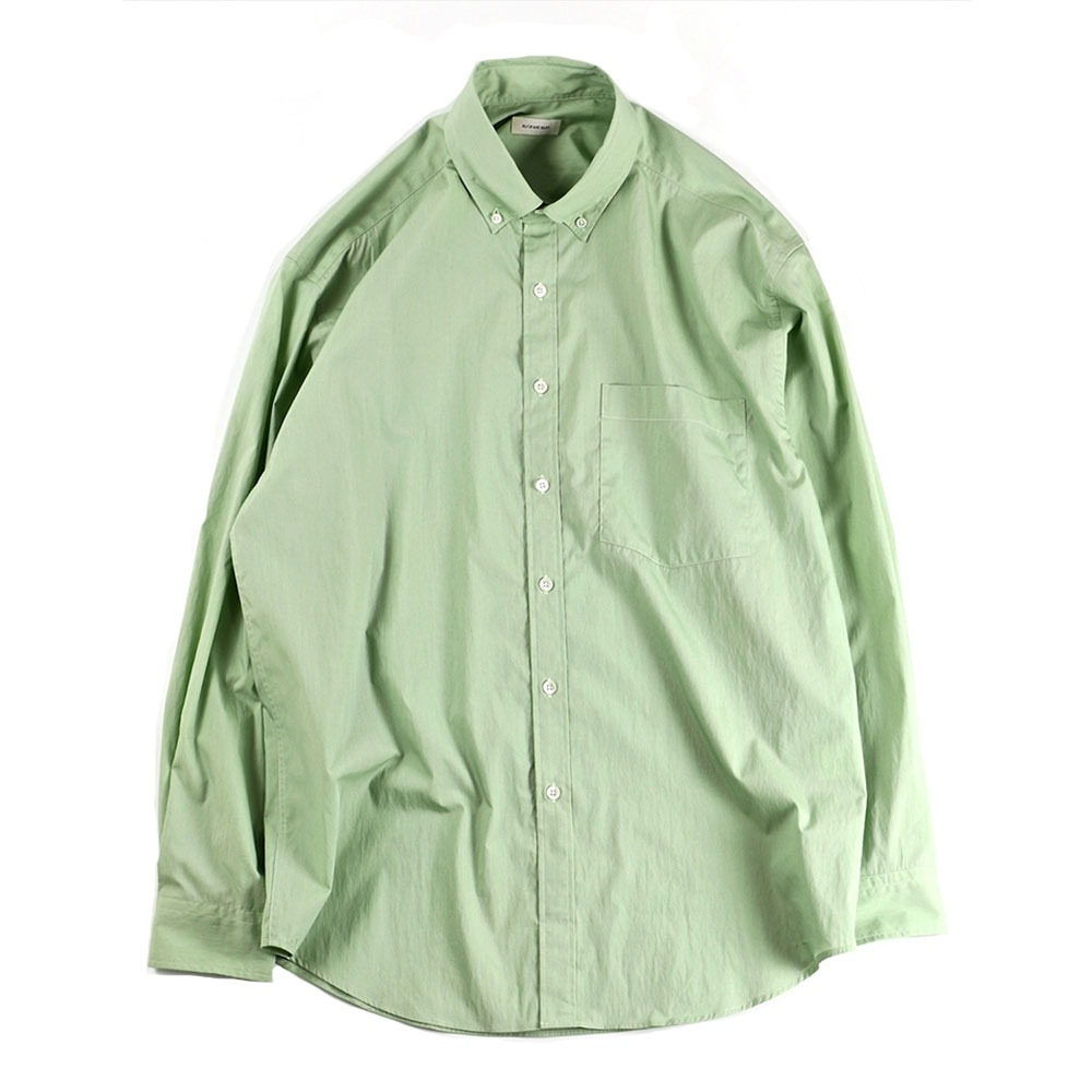 [Slick And Easy]  Lightweight Slick Shirt Apple Mint