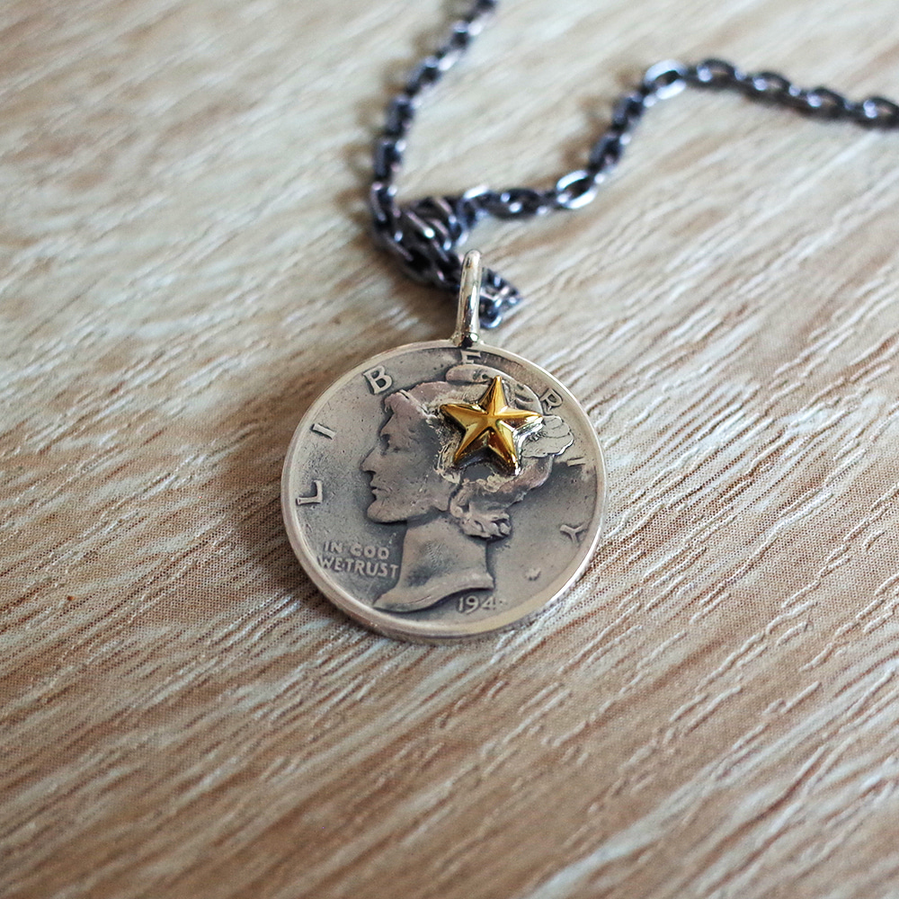 [North Works]  N-301 10¢Brace Point Star Pendant