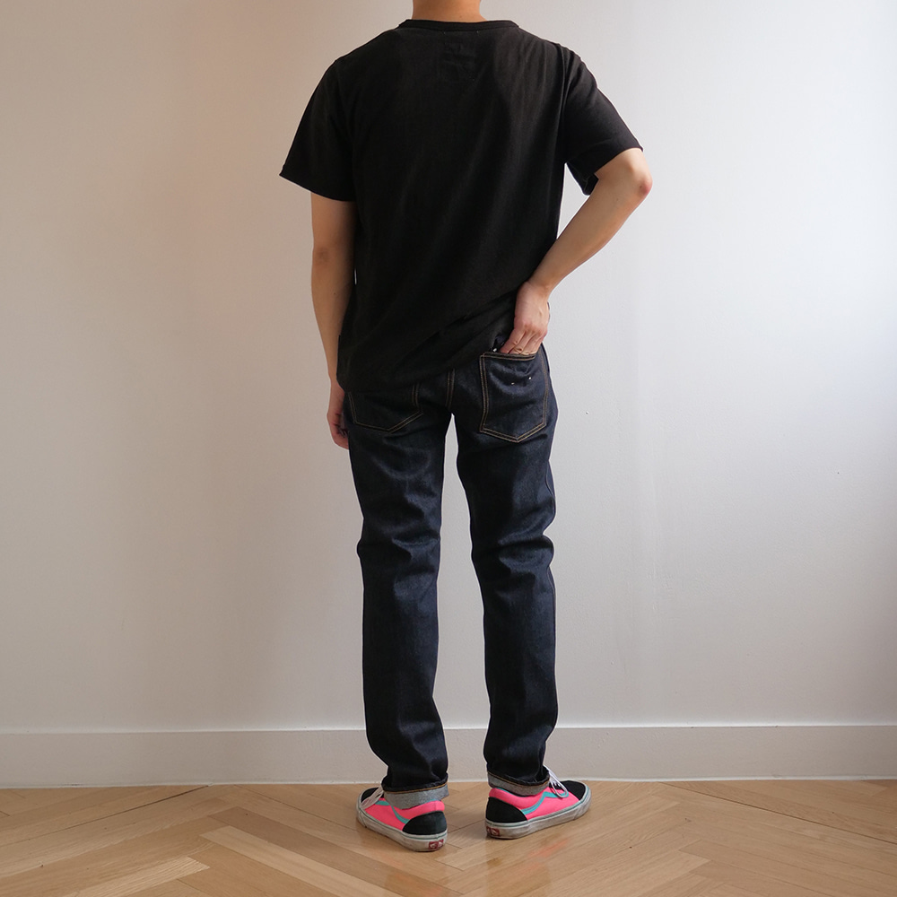 [Ordinary Fits]  5Pocket Modern Denim One Wash