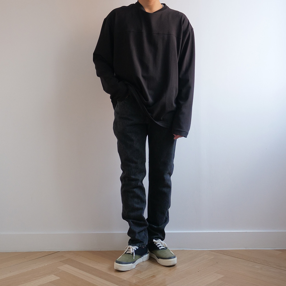 [Ordinary Fits]  5Pocket Modern Denim Black Used