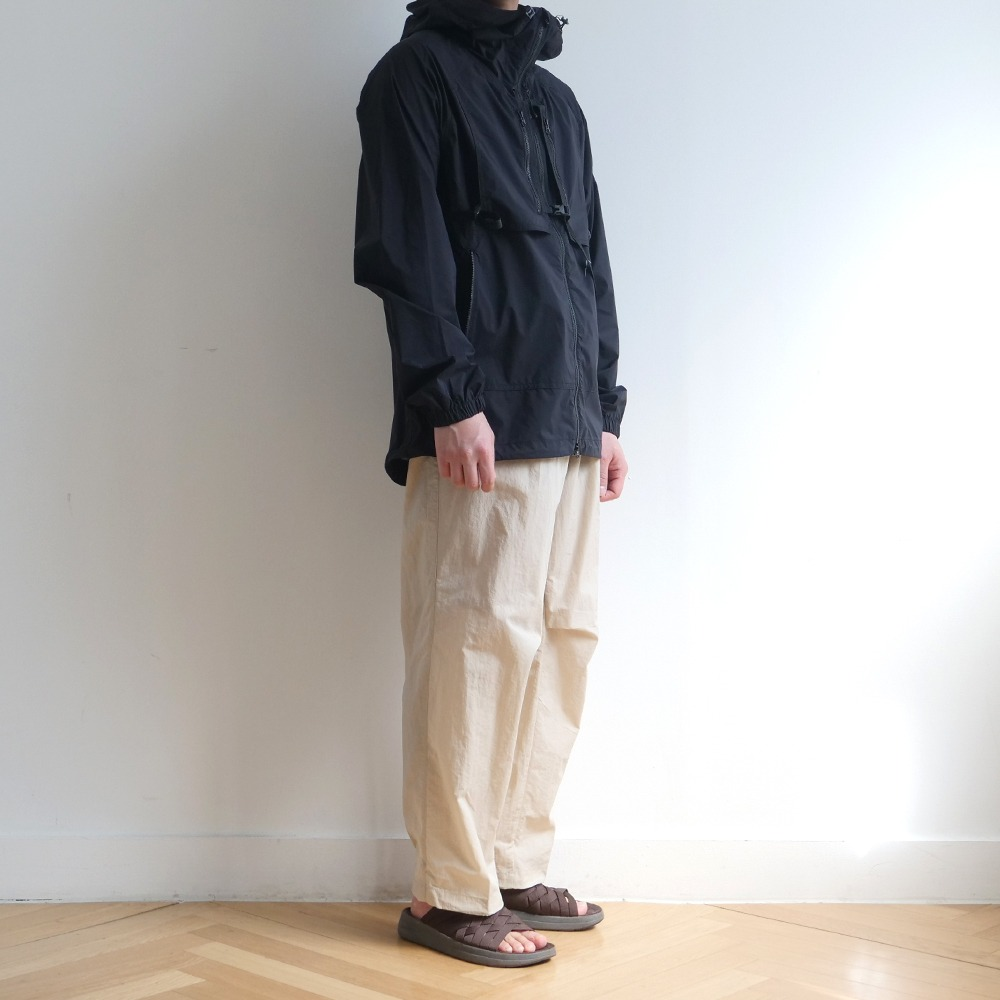 [Cayl]  Buckle Wind Jacket Black